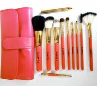 Wholesale Brand export Luoway harovi makeup brush High grade wool hardcover gift box makeup kit
