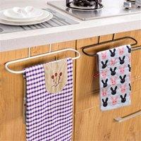 bathroom towel cabinet - Hanging Iron Rail Shelf For Home Bathroom Kitchen Towels Organizer Metal Rack Holder Cabinet Cupboard Door Hangers