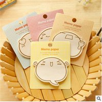 Wholesale Totoro Planner Stickers Sticky Notes Cute Korean Stationery Office Supplies Scrapbooking Post It Memo Pad Sticky Markers
