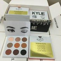 Wholesale 2016 kylie jenner eyeshadow palette Kylie EyeShadow kylie lip kits Cosmetics Bronze KyShadow Palette eyeshadow palettes