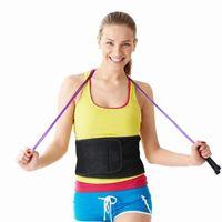 abs weight loss - Waist Trimmer Belt Weight Loss Back Posture Support Stomach Body Wrap Strengthen Tummy Abs Belly Fat Burning Sauna Adjustable Belt