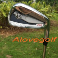 authentic club - Authentic golf clubs Yamaha RMX golf irons set with real NS steel shaft original irons