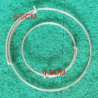 baby boy bangles - 50pcs New cm Tiny Stainless Steel Baby Expandable Wire Bangles For Kids Girl Boy Bangles AAB003