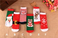 baby hosiery - Kids Festival Socks colors for T Baby terry loop hosiery Autumn Winter warmer Socks Baby holiday Socks Xmas gifts New year gifts