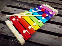 Wholesale Infants and children baby gift xylophone knock piano toy hand scale educational early childhood musical beat Qintai