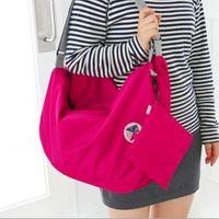 backpack types - Korean version of the iconic multi functional transformation foldable storage bag shoulder bag backpack large favorably