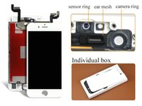 alibaba - 2016 hot sell D Touch Alibaba china For iPhone S LCD Display with Touch Digitizer Assembly Replacement with camera ring freeshipping