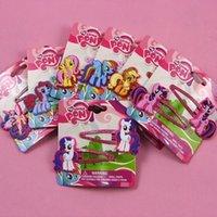 venda por atacado enfeites de cabelo-crianças presilhas My Little Pony clips bebê hairpin bebés hairbands garras do cabelo cabelo criança do bebê ornamento hairclip epacket 7design
