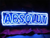 absolute custom - NEON SIGN For ABSOLUTE VODKA Custom Store Lighting Display Beer Bar Pub Club Lights Signs Shop Decorate Real Glass Tube Bulbs