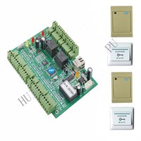 Wholesale Two door TCP IP Access controller readers exit buttons Double doors access controller Warranty years