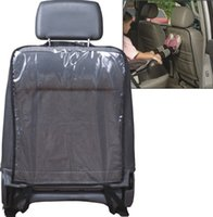 baby car seat cover set - Newest Car Auto Seat Back Protector For Kids Children Kick Mat Mud Cleaner For Baby Dogs From Mud Dirt Black Blue F731