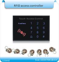 Бесплатная доставка новейший K15A акриловая водонепроницаемым сенсорная панель клавиатуры passwordRFID Бесконтактный входной двери замок Система контроля доступа
