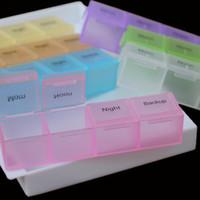 Wholesale Weekly Days Tablet Pill Box Holder Medicine Storage Organizer Case Container