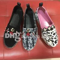 Cheap Summer Fisherman Women Sandals brand designer Espadrilles women Cotton flat Shoes Open Toe Wedges Sandals Womens Roma Sandals Fabric shoes