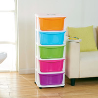 Wholesale Baby drawer cabinet finishing clothes holding a good assistant plastic storage box of children s toys