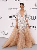 Wholesale Sexy Girls Dressed Princesses - long sleeve champagne wedding dresses 2016 zuhair murad dresses for black girls red carpet celebrity dresses camo bridal gowns