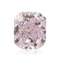 Wholesale 1 Cts Fancy Purplish Pink Loose Diamond Natural Color Radiant Cut GIA Cert