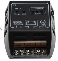 Wholesale Under voltage protection Solar Panel Charger Regulator Controller Reverse polarity protection A V V CE Certify