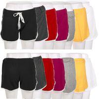 Wholesale Women Sports Shorts Women Cotton Sports Shorts Elastic Waist Casual Running Summer Free Size