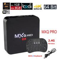 android hdmi keyboard - Android TV Box MXQ Pro Amlogic S905 Quad Core k bit Smart Mini PC G G K KODI Fully Loaded with I8 Wireless Keyboard