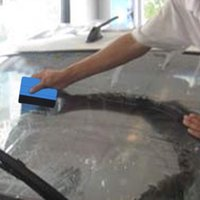 Wholesale 1pcs Car Squeegee Decal Vinyl Plastic Wrap Applicator Soft Felt for Edge Scraper Drop Shipping