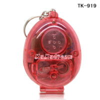 Wholesale 2pcs Childhood New Electronic Digital Pet Player flip pet machine pets Key Chain best gift for Festivals