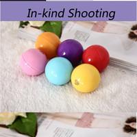 balls balm - color natural plant moisturizing lip balm ball creative spherical lipstick Organic Lip fruit scent S316 Sphere