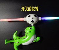 Wholesale Flashing LED Music Windmill For Kids Sea lion Smile face ball windmills Children toys Kids Play Gifts