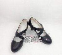 ada wong cosplay - Resident Evil Ada wong black high heel cos Cosplay Shoes Boots shoe boot JZ244 anime Halloween Christmas