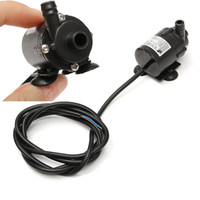 Wholesale Ultra Quiet V VDC Mini Brushless Submersible Amphibious Water Motor Pump M