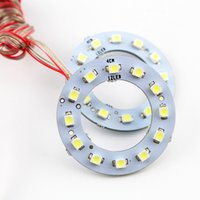 Wholesale 10pair MM Car Led Headlight COB Angel Eye LED CCFL Halo Ring Angel Eyes Warning Lamps