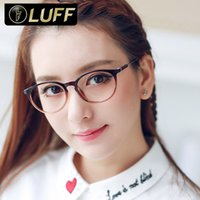 beautiful eyeglass frames - Fashion Retro Eyeglass Frames For Women TR90 Glasses Frame Super Light Clear Eyewear Frames Womens Beautiful Femininity