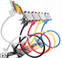 Wholesale Two jawed chuck skid resistance colourful Mobile phone holder for for iPhone Samsung Galaxy Mobile Phone