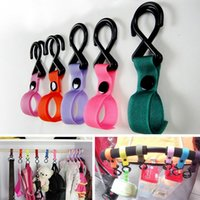 Wholesale New Plastic Baby Stroller Accessories Pram Hooks Pushchair Car Hanger Hanging Strap
