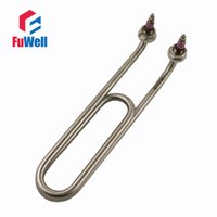 bend steel tube - Bending Double U Shaped Stainless Steel Electric Heaing Element V or V Heating Tube Heater