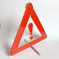 automobile signs - Top Quality New Folding Car Emergency Tripod Reflective Automobile Traffic Warning stop sign Aug