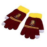 Wholesale Harry Potter Knitted gloves one size styles Fashion Autumn Winter warm Gloves
