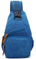 Wholesale BLUE color sling BACKPACK bag xiamen oem bag manufacturer for international in popular item