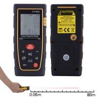 Wholesale High accuracy M Handheld Digital LCD backlight Laser Distance Range Finder Measure Rangefinders Meter