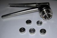 aluminium cap sealing machine - 13mm SZ13 Manual Stainless Steel Crimper for aluminium caps manual Crimper Flip Off Caps Hand Sealing Machine Tool sealing pliers capper