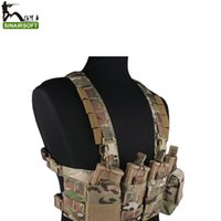 Wholesale Emersongeargear Hunting Pouches Vest Chest Rig Multicam Vest Airsoft Painball Military Army Combat Gear EM7450 MC AOR1 AOR2