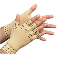 Wholesale Arthritis Relief Gloves Washable Nylon Spandex Anti Inflammatory Hand Compression Relief Arthritis Compression Gloves Physiotherapy Gloves