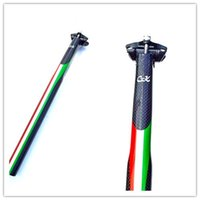 Wholesale Cyclingking Full Carbon Fibre Bicycle Seatpost road bike MTB Bicycle accessories k finish mm