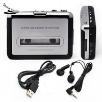 Wholesale New Tape to PC USB Super Cassette to MP3 Converter Cassette Deck Converter Capture Audio Music Player