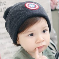 apparel boutiques - 2016 Fashion Warm Woolen Knitted Caps Baby Kids Winter Hats New Boutique Winter Beanies Clothes Apparel Accessories for T Kids
