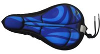 Wholesale Comfortable Deluxe MTB Trekking Bicycle Gel Saddle Cover D Bike Seat Cover for Bicycle Saddle is popular