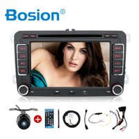 Wholesale Double2 DIN Car DVD Player Auto GPS BT Touch Radio MP3 stereo For Volkswagen VW Skoda POLO PASSAT B6 Caddy CC TIGUAN GOLF Seat
