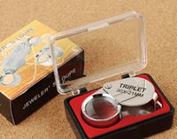 Wholesale 2016 new x mm Jewelry Tools Equipment Jewelers Eye Loupe Magnifier Magnifying Glass Loupes Magnifiers