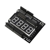 Wholesale 0 seg digit Red LED Display DIY Digit Shield Module For Arduino Compatible New