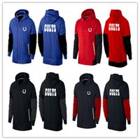 american colt - cheap sports Indianapolis cheap Colts hoodies American football hoodies black red royal blue men cheap Sweatshirts size M XL